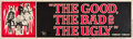 """Movie Posters:Western, The Good, the Bad and the Ugly (United Artists, 1968). Banner (82""""X 24"""").. ..."""