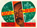 "Movie Posters:Mystery, Castle in the Desert (20th Century Fox, 1942). Half Sheet (22"" X28"").. ..."