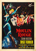 "Movie Posters:Drama, Moulin Rouge (United Artists, 1952). Italian 2 - Foglio (39"" X55"").. ..."