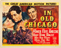 "Movie Posters:Drama, In Old Chicago (20th Century Fox, 1937). Half Sheet (22"" X 28"")....."
