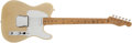 Musical Instruments:Electric Guitars, 1955 Fender Telecaster Blonde Electric Guitar, #7536....