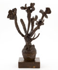 Sculpture, ANTHONY CARO (British, b. 1924). Vase of Flowers, 1958-1959. Bronze with dark brown patina. 19 x 15 x 15 inches (48.3 x ...
