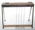 Musical Instruments:Lap Steel Guitars, 1950s Fender 400 Tan 8-String Pedal Steel Guitar, Serial #00203....