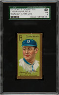 """Baseball Cards:Singles (Pre-1930), 1911 T205 Gold Border Irvin K. Wilhelm """"Suffered"""" SGC 40 VG 3 - TheFirst Confirmed """"Cycle"""" Back! ..."""