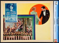 "On with the Show! (Warner Brothers, 1929). CGC Graded Lobby Card (11"" X 14"")"