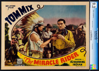 """The Miracle Rider (Mascot, 1935). CGC Lobby Card (11"""" X 14""""). Chapter 1--""""The Vanishing Indian."""""""