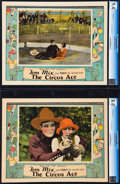 """Movie Posters:Western, The Circus Ace (Fox, 1927). CGC Graded Lobby Cards (2) (11"""" X 14"""").. ... (Total: 2 Items)"""