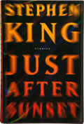 Books:Horror & Supernatural, Stephen King. SIGNED. Just After Sunset. New York: Scribner, [2008]. First edition, first printing. Signed by ...