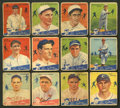 Baseball Cards:Sets, 1934 Goudey Baseball Partial Set (51/96) With High Numbers. ...