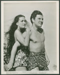"Movie Posters:Adventure, Dorothy Lamour and Robert Preston in ""Typhoon"" (Paramount, 1940).Photo (8"" X 10""). Adventure.. ..."