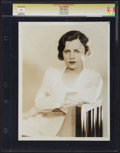 """Movie Posters:Drama, June Walker in """"War Nurse"""" by George Hurrell (MGM, 1930). CGC Graded Photo (8"""" X 10""""). Drama.. ..."""