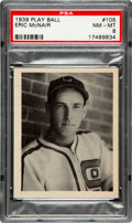 Baseball Cards:Singles (1930-1939), 1939 Play Ball Donald Eric McNair #105 PSA NM-MT 8....