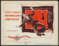 "Movie Posters:Hitchcock, North by Northwest (MGM, 1959). Title Lobby Card (11"" X 14"").Hitchcock.. ..."