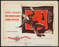 """North by Northwest (MGM, 1959). Title Lobby Card (11"""" X 14""""). Hitchcock"""