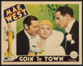 "Movie Posters:Comedy, Goin' to Town (Paramount, 1935). Lobby Card (11"" X 14""). Comedy....."