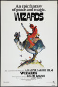 "Movie Posters:Animated, Wizards (20th Century Fox, 1977). One Sheet (27"" X 41""). Style A.Animated.. ..."