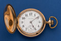 Timepieces:Pocket (post 1900), South Bend 18 Size 17 Jewel Grade 344 Pocket Watch With Montgomery Dial. ...