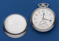 Timepieces:Pocket (post 1900), Illinois 17 Jewel Railroad King 18 Size With Scarce Dial PocketWatch. ...