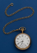 Timepieces:Pocket (post 1900), Hamilton 21 Jewel Grade 940 Pocket Watch. ...