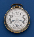 Timepieces:Pocket (post 1900), Illinois 23 Jewel Grade 163 A Elinvar Bunn Special Pocket Watch. ...