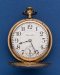 Timepieces:Pocket (post 1900), Hamilton Grade 940, 21 Jewel Pocket Watch With Montgomery Dial. ...