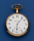 Timepieces:Pocket (post 1900), Hamilton 21 Jewel Grade 990 Pocket Watch. ...