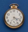 Timepieces:Pocket (pre 1900) , Elgin 21 Jewel B.W. Raymond Pocket Watch. ...