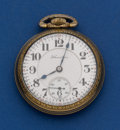 Timepieces:Pocket (post 1900), Hamilton 19 Jewel Grade 996 Pocket Watch. ...