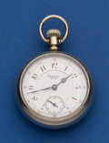 Timepieces:Pocket (post 1900), Waltham 17 Jewel Model 83 Pocket Watch Runner. ...