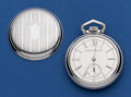 Timepieces:Pocket (pre 1900) , Aurora 18 Size 15 Jewel Pocket Watch. ...