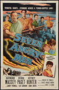 "Movie Posters:Western, Seven Angry Men (Allied Artists, 1955). One Sheet (27"" X 41""). Western.. ..."