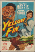 "Movie Posters:Adventure, Yellow Fin (Monogram, 1951). One Sheet (27"" X 41""). Adventure.. ..."
