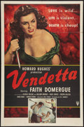 """Movie Posters:Crime, Vendetta (RKO, 1950). One Sheet (27"""" X 41""""). Style A. Crime.. ..."""