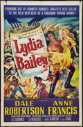 "Movie Posters:Adventure, Lydia Bailey (20th Century Fox, 1952). One Sheet (27"" X 41"").Adventure.. ..."