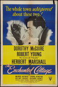 """Movie Posters:Romance, The Enchanted Cottage (RKO, 1945). One Sheet (27"""" X 41""""). Romance.. ..."""