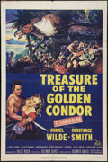 "Movie Posters:Adventure, Treasure of the Golden Condor (20th Century Fox, 1953). One Sheet(27"" X 41""). Adventure.. ..."