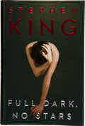 Books:Horror & Supernatural, Stephen King. Full Dark, No Stars. New York London TorontoSydney: Scribner, [2010].. First edition, first pri...