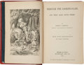 Books:Children's Books, Lewis Carroll. Through the Looking-Glass, and What AliceFound There. New York: Macmillan and Co., 1872.. Firs...