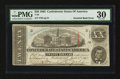 Confederate Notes:1863 Issues, T58 $20 1863 Inverted Back PF-UNL, CC.. ...