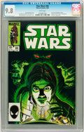 Modern Age (1980-Present):Science Fiction, Star Wars #84 (Marvel, 1984) CGC NM/MT 9.8 White pages....