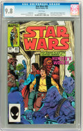 Modern Age (1980-Present):Science Fiction, Star Wars #85 (Marvel, 1984) CGC NM/MT 9.8 White pages....