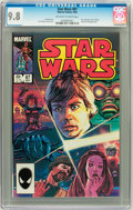 Modern Age (1980-Present):Science Fiction, Star Wars #87 (Marvel, 1984) CGC NM/MT 9.8 Off-white to whitepages....