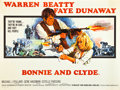 "Movie Posters:Crime, Bonnie and Clyde (Warner Brothers-Seven Arts, 1967). British Quad(30"" X 40"").. ..."