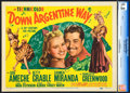 "Movie Posters:Comedy, Down Argentine Way (20th Century Fox, 1940). CGC Graded Title LobbyCard and Lobby Card (11"" X 14"").. ... (Total: 2 Items)"