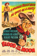 """Movie Posters:Western, Blood on the Moon (RKO, 1948). One Sheet (27"""" X 41"""").. ..."""