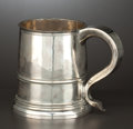 Silver Holloware, British:Holloware, A JAMES II SILVER MUG . Maker unidentified, London, England, circa1686-1687. Marks: (lion passant), (leopard's head crowned...
