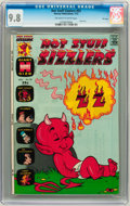 Bronze Age (1970-1979):Cartoon Character, Hot Stuff Sizzlers #55 File Copy (Harvey, 1973) CGC NM/MT 9.8Off-white to white pages....