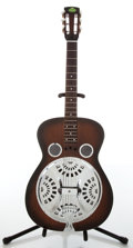 Musical Instruments:Resonator Guitars, 2000s Regal Dobro Tobacco Sunburst Resonator Guitar....