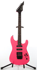 Musical Instruments:Electric Guitars, 1980s B.C. Rich Platinum Series Electric Pink Electric Guitar,#E702776....
