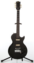 Musical Instruments:Electric Guitars, 1983 Gibson Invader Black Electric Guitar, #82973596....